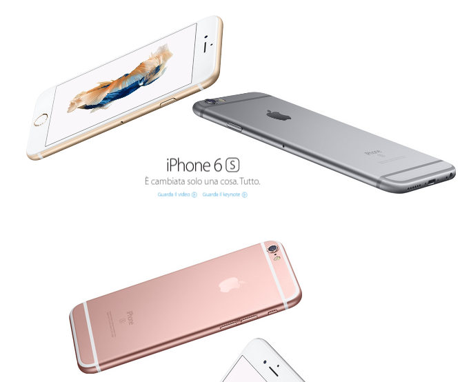 iPhone 6S e 6S Plus