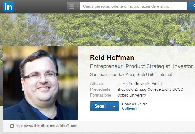 Standard immagine profilo linkedin